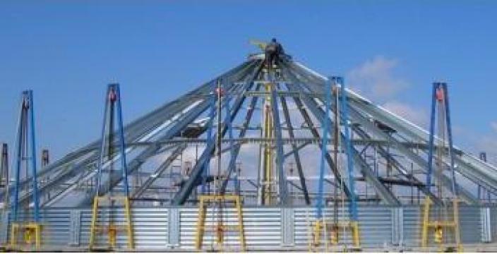 Servicii de montaj siloz metalic pentru cereale