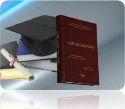 Coperta diploma, licenta, disertatie, doctorat de la AemdPC & Serv