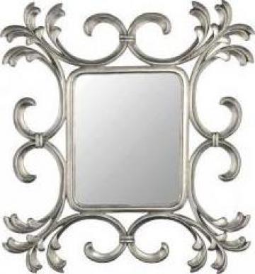 Oglinda de perete argintie Morocco