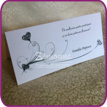 Plic bani nunta botez de la Simonne