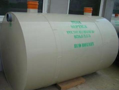Fose ecologice tricamerale Imhoff 2200 litri 4-5 loc.
