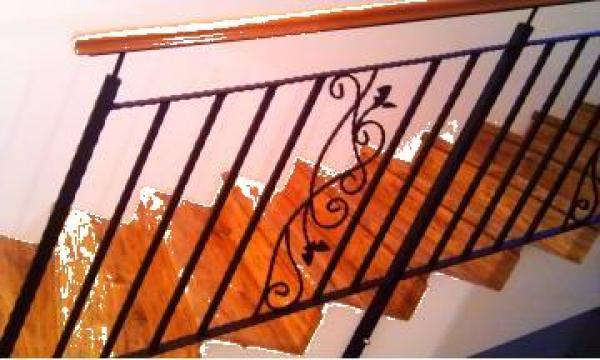 Balustrada fier forjat unicat de la New Metal Design SRL