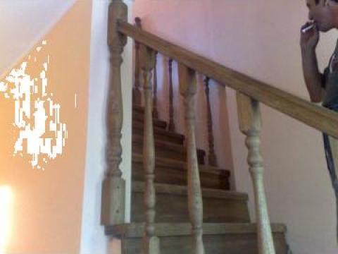 Balustrada de protectie - garda de corp stejar