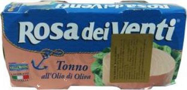 Conserva medie ton in ulei masline