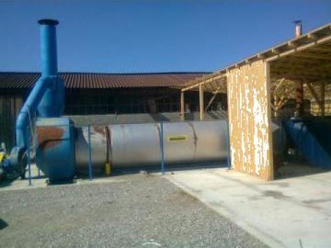 Linie de fabricare peleti de la Ecorompellet Production Srl