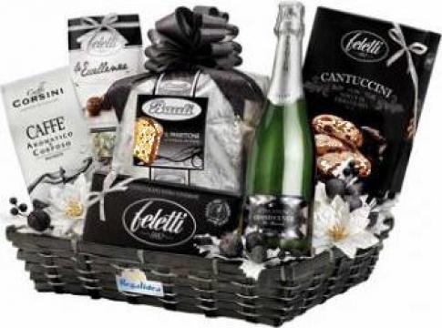 Cos cadou Tulipano pentru Sf. Valentin si Dragobete de la Italian Market Distribution