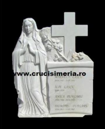Cruci marmura monumente funerare de la Lov Stone Invest Srl
