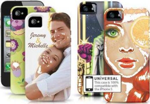 Husa personalizata telefon mobil Iphone de la Sian Image Media Srl
