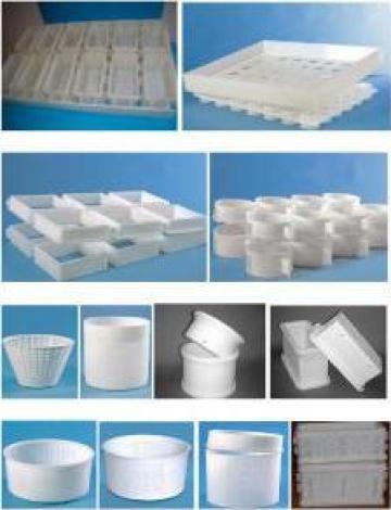 Forme bloc si individuale pentru branzeturi