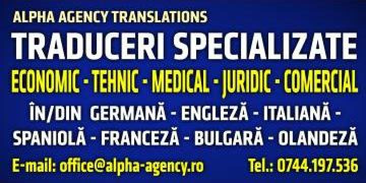 Traduceri medicale din/in limba italiana