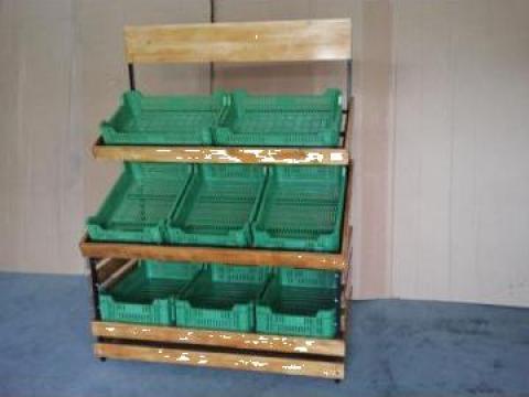 Stand legume fructe de la Pro Retail Srl