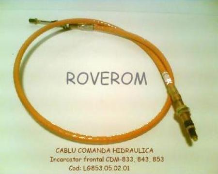 Cablu comanda hidraulica XCMG, CDM, SDLG (L=1950mm) de la Roverom Srl