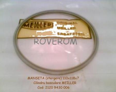 Manseta raclor (stergere) 110x118x7mm cilindru Meiller