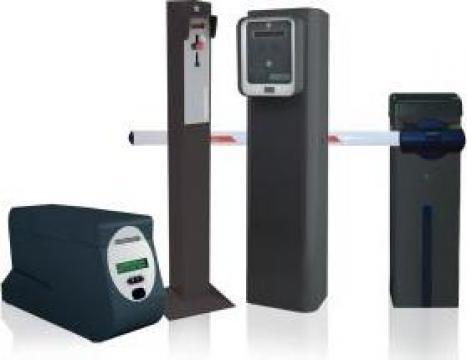 Kit sistem de parcare cu plata automata de la Tritech Group Srl