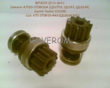 Bendix (z=11) demaror motor Yuchai YC6108 de la Roverom Srl