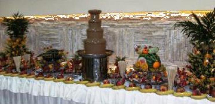 Fantana profesionala de ciocolata de la