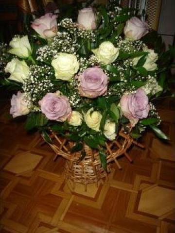 Cosuri de flori pentru cununie sau diverse ocazii de la Events Creator By Delia Oltean