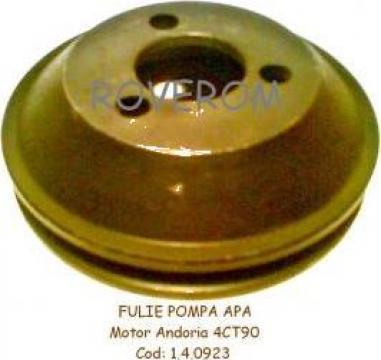 Fulie pompa apa motor Andoria 4CT90