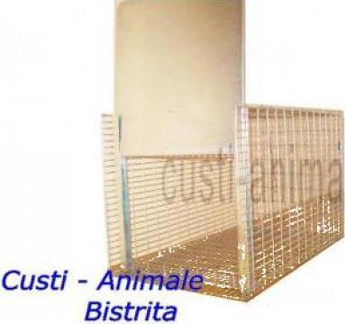 Capcana ecologica pentru animale 75x40x40 cm de la Bobilech Srl