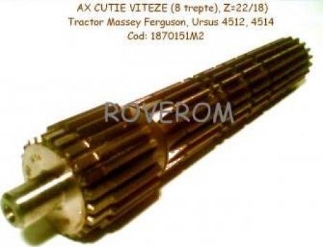 Ax cutie viteze (Z=22/18) Massey Ferguson, Ursus 4512, 4514