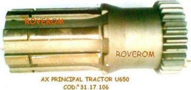 Ax principal tractor U-650