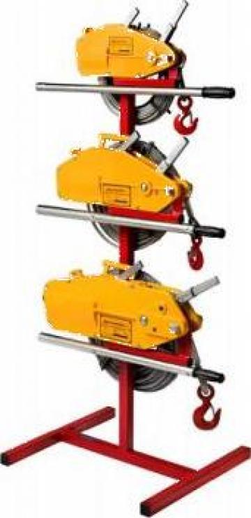 Troliu manual cu cablu 800 kg (Tirfor) de la Www.toplift.ro