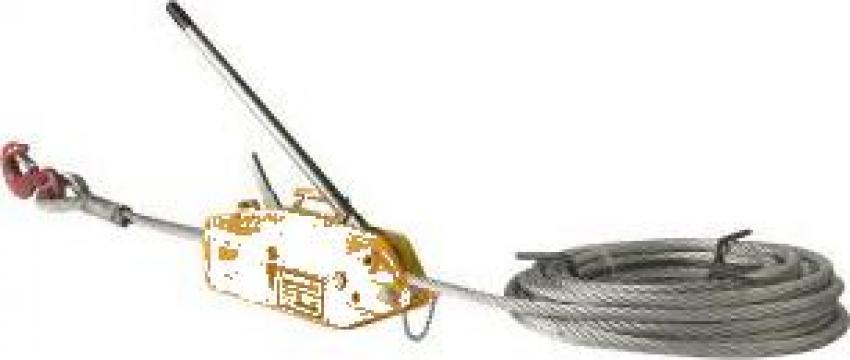 Troliu manual cu cablu 3200 kg (Tirfor) de la Www.toplift.ro
