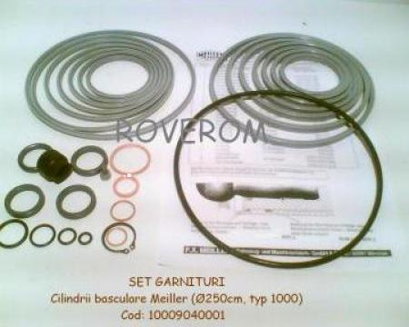 Garnituri cilindrii basculare Meiller 1000, bila=250mm