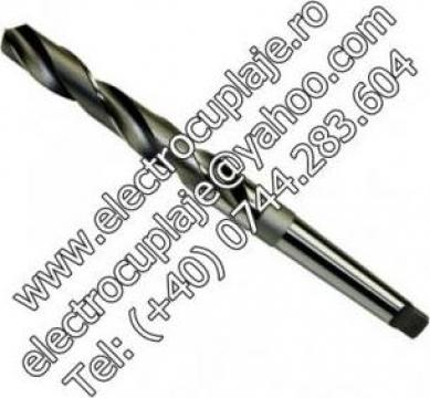 Burghiu pentru metal (scurt) HSS DIN 338