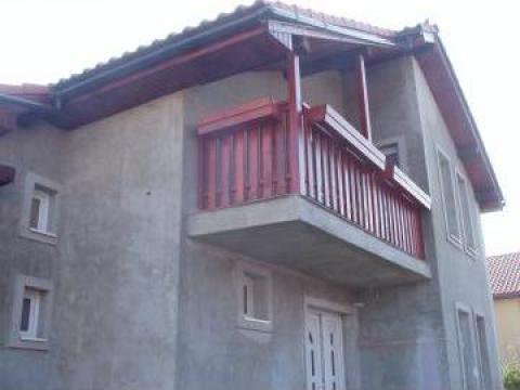 Terasa si balcon de lemn timisoara pfa georgescu for Modele de balcon din lemn
