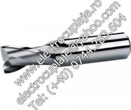 Freza cilindro-frontale -deget 2 taisuri DIN 327 de la Electrotools