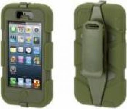 Husa telefon mobil Iphone 5 Griffin Survivor Armored de la