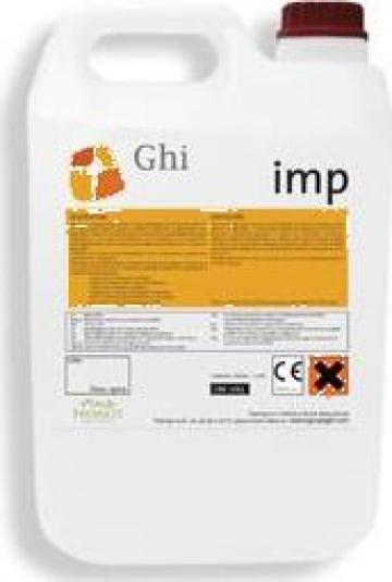 Lac protector IMP pentru sigilare beton amprentat de la Cemat Floor Srl