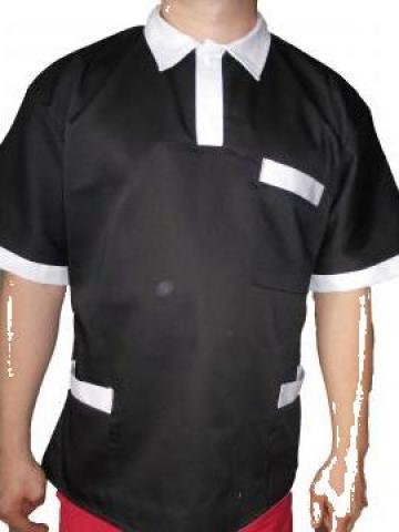 Tricou protectie polo negru