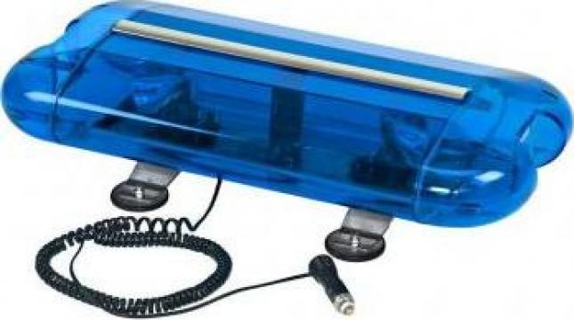 Girofar Magnetic (albastru) 12V - 60-cm de la Zimber Tools