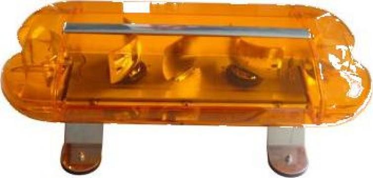 Rampa luminoasa - girofar magnetic 24V - 60cm de la Zimber Tools
