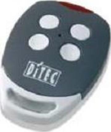 Telecomanda Ditec Gol gri 433 MHz de la Prosystem Srl