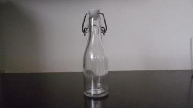 Sticla cu dop ceramic si garnitura din silicon de la Stireco Lth Srl