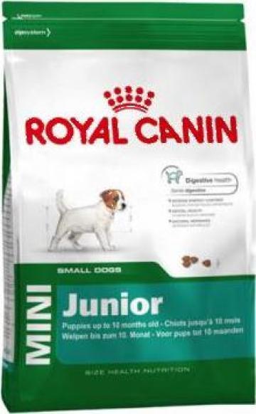 Hrana caini Royal Canin Mini Junior, 8Kg de la Petshop Boutique
