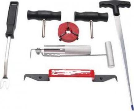 Set de scule pentru demontat parbrize de la Zimber Tools