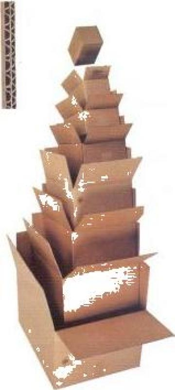 Cutii din carton ondulat de la Fira Impex Srl