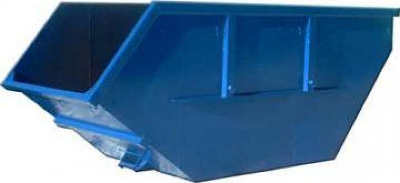Container metalic asimetric Skip 4mc de la Edmarom Prod 2007 Srl