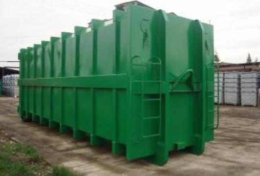 Container Abroll pentru presa stationara de la Electromec Sa