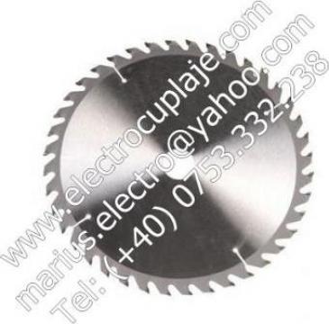 Panza circulara placata 350 x 30 mm 40Z de la Electrofrane