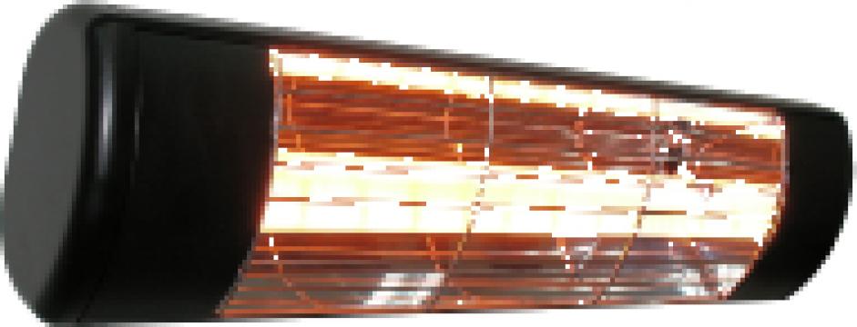 Panouri radiante negre de incalzit in infrarosu de 1000 wati de la Tehnocom Liv Rezistente Electrice, Etansari Mecanice