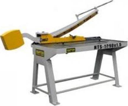 Foarfeca pentru tabla Raptor HTS 1290 de la Seta Machinery Supplier Srl