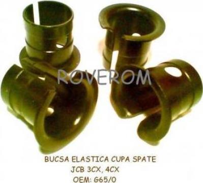 Bucsa elastica cupa spate JCB 3CX, 4CX, 8055, 8056, 8060