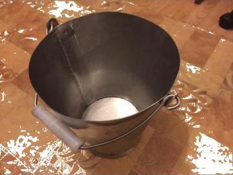 Galeata inox alimentar 10L de la Baza Tehnica Alfa Srl
