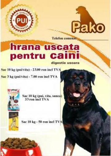 Hrana uscata animale de companie Pako