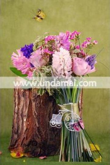 Buchete florale Flori pe bicicleta de la Unda Mai Srl